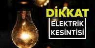 Alanya#039;da bu mahallelerde elektrik kesintisi var!