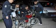 Alanya#039;da çalıntı motosikletle gezerken yakalandı!
