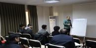 Alanya'da EKPSS için engelli bireylere ders verilmeye başlandı
