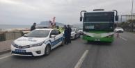 Alanya#039;da halk otobüsleri denetlendi