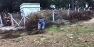Alanya#039;da İçme suyu depolarına çevre temizliği