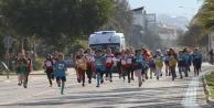 Alanya#039;da Okullararası Kros yarışı yapıldı