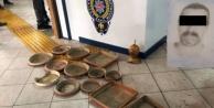 Alanya#039;da saksı çalan şahıs tutuklandı!
