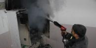 Alanyada elektrik panosu yangını paniğe yol açtı!
