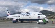 Alanyaspor uçağı Sivas#039;a inemedi