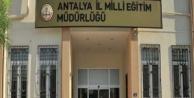 Antalya#039;nın 17 ilçesinde milli eğitim müdürleri değişti!