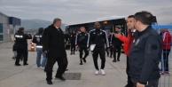 Beşiktaş Alanya#039;ya geldi