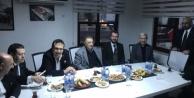 Beşiktaş Başkanı Çebi, Alanya#039;da derneği ziyaret etti