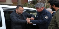 Çalıntı araçla polisten kaçtı, yakalanınca 'kol saatimi cebime koyun dedi