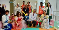Hasta çocuklara eğlenceli bir şekilde doğa anlatıldı
