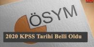 KPSS yerleştirme takvimini açıklandı