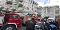 Mahmutlar'da ev alevlere teslim oldu: 1 yaralı
