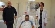 Ses kısıklığı için gittiği hastanede bakın neyle karşılaştı