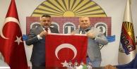 Gökçeoğlu'ndan Başkan Şahin'e ziyaret