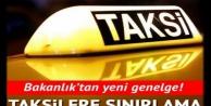 Ticari taksilere korona sınırlaması