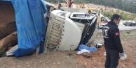 Trafik kazası: 1 ölü, 1 yaralı var