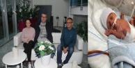 Yerleşik İsveçli ailenin hasta bebeğinin bakım masrafına Bakanlık desteği