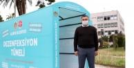 Alanya Belediyesi dezenfeksiyon tüneli hizmete girdi