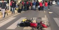 Alanya#039;da korkutan kaza: 1 yaralı var