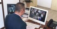 Alanya#039;da okul müdürleri online toplandı