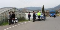 Sokağa çıkması yasak genç, polisten kaçmak isterken kaza yaptı