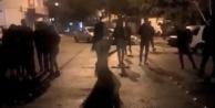 Sokak ortasında dansözlü doğum günü partisine polis baskını