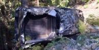 Alanya#039;da 1 kişinin ölümüne 2 kişinin yaralanmasına neden olan kazadan bu görüntüler kaldı
