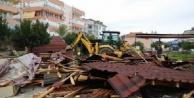 Alanya#039;da 26 kaçak yapı yıkıldı