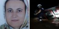Alanya#039;da kamyonet dereye uçtu: 1 ölü var