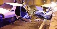 Alanya#039;da tünelde feci kaza