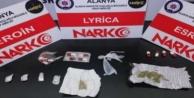 Alanya#039;da uyuşturucu operasyonu; 11 gözaltı var