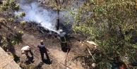Alanya#039;da yerleşim alanlarını korkutan yangın