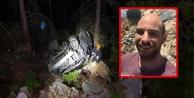 Alanya#039;da araç uçuruma yuvarlandı: 1 ölü, 1 yaralı var