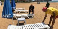 Alanya plajları yeni döneme hazırlanıyor