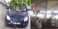 Antalya#039;yı dolu, fırtına ve sağanak yağış vurdu