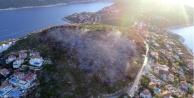 Haluk Levent#039;ten Kaş yangını paylaşımı