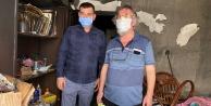 MHP Alanya#039;dan mağdur aileye yardım eli