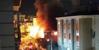 5 milyonluk market yangını
