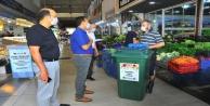 Alanya#039;da hal esnafı için çöp düzenlemesi