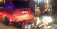 Alanya#039;da motosiklet kazası! Kadın sürücü ölümden döndü