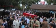 Antalya şehidini dualarla uğurladı