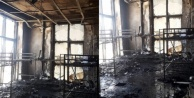 Gazipaşa Kültür Merkezi#039;nde yangın şoku