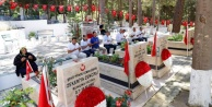Ak Parti Alanya şehitleri unutmadı