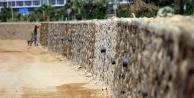 Alanya Belediyesi#039;nden hizmet duvarı