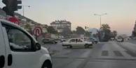 Alanya#039;da drift yapan sürücüye 8 bin TL ceza