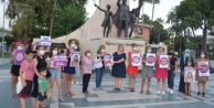 Alanya#039;da kadın cinayetlerine tepki