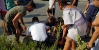 Alanya#039;da korkutan kaza