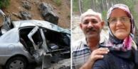 Alanya#039;da otomobil uçuruma yuvarlandı: 3 ölü, 4 yaralı var