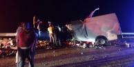 Alanya yolunda feci kaza: 2 ölü, 4 yaralı var