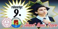 Alanyalı Ahmet YKS#039;de Türkiye 9#039;uncusu oldu